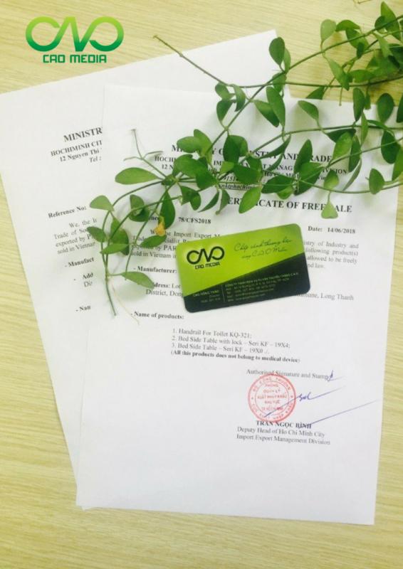 Quy trình xin giấy phép lưu hành tự do   CFS cho sản phẩm trái cây đông lạnh