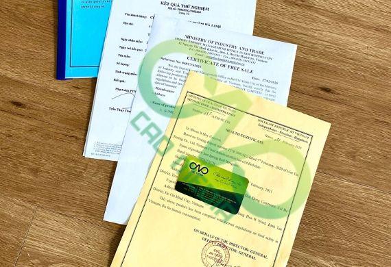 Dịch vụ làm giấy chứng nhận xuất khẩu thực phẩm trên toàn quốc