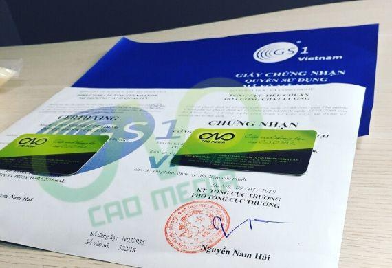 Cơ quan cấp chứng nhận đăng ký mã số mã vạch sản phẩm