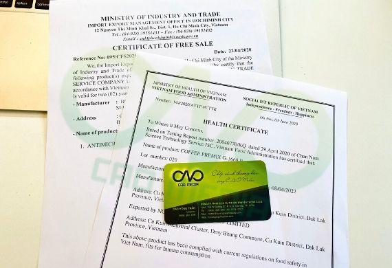 Thực hiện giấy chứng nhận y tế cho hàng nông sản xuất khẩu