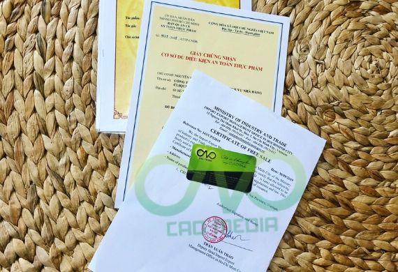 Thực hiện giấy phép lưu hành tự do cho sản phẩm dầu ăn