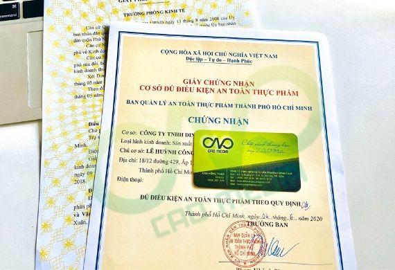 Xin giấy phép an toàn thực phẩm cho cơ sở sản xuất bánh pía