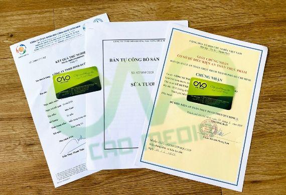 Hướng dẫn xin giấy phép attp cho cơ sở sản xuất sữa tươi