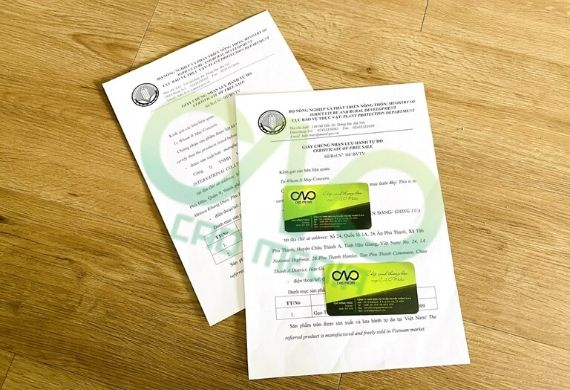 Thủ tục xin giấy CFS tại cục bảo vệ thực vật