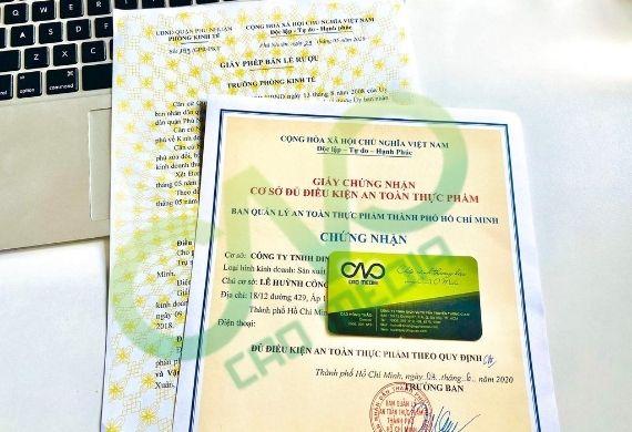 Thực hiện giấy phép an toàn thực phẩm cho cơ sở tại Bình Thạnh
