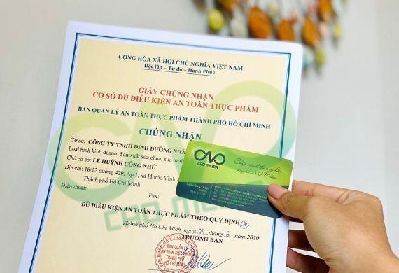 Thực hiện giấy phép an toàn thực phẩm cho cơ sở tại quận Tân Phú