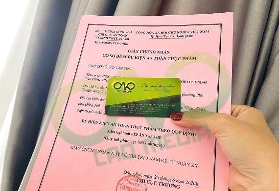 Thực hiện giấy phép attp cho dịch vụ ăn uống ở Đồng Nai