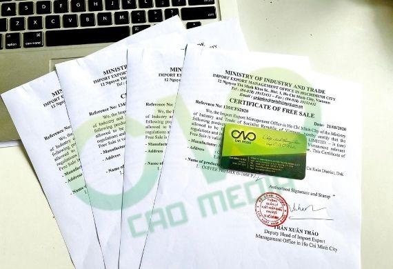 Hồ sơ cấp giấy phép lưu hành tự do sản phẩm ống hút gạo như nào?