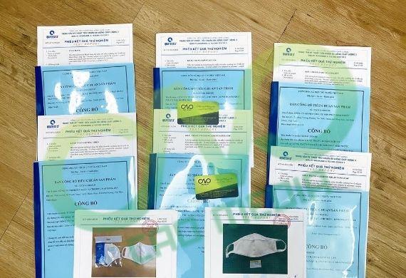 Dịch vụ kiểm định và công bố khẩu trang y tế trên toàn quốc