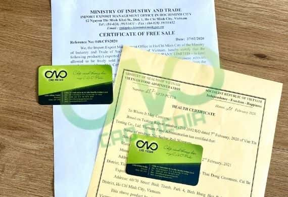 Đăng ký giấy phép xuất khẩu cho hạt trân châu
