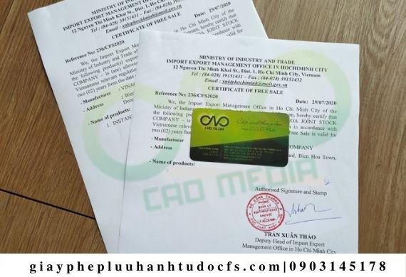 Dịch vụ xin giấy phép lưu hành tự do cho sản phẩm bột nếp