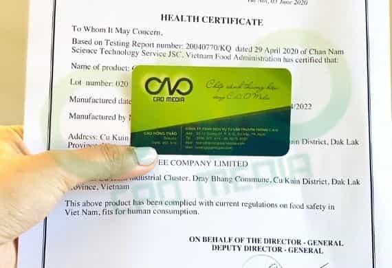 Dịch vụ làm health certificate cho đường mía xuất khẩu
