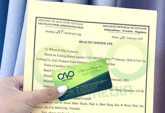 Tư vấn xin giấy chứng nhận y tế cho nước cốt dừa xuất khẩu
