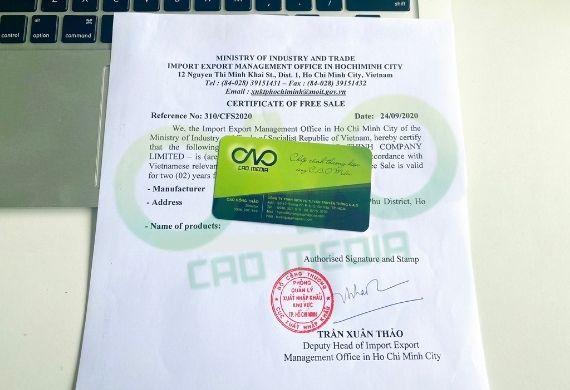 Doanh nghiệp xin giấy phép lưu hành cho tinh bột nghệ xuất khẩu như thế nào