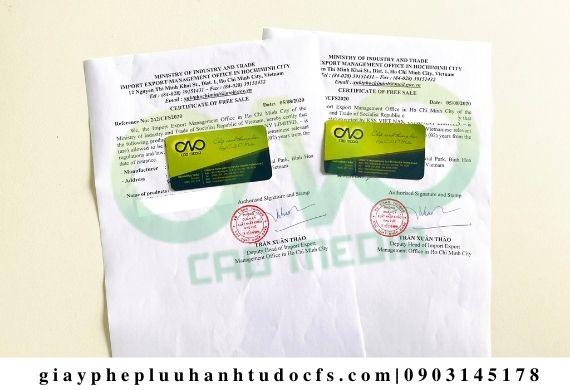 Xin giấy phép lưu hành tự do cho mận sấy dẻo xuất khẩu