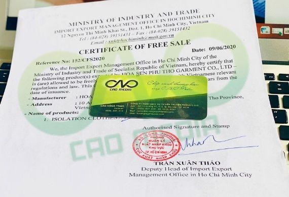Thủ tục làm giấy phép lưu hành tự do cho vỏ bưởi sấy