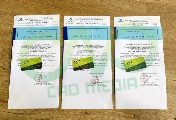 Toàn bộ giấy phép xuất khẩu tăm tre