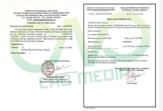 Dịch vụ xin giấy phép xuất khẩu khổ qua sấy khô