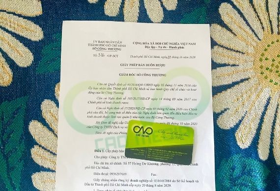 Đăng ký giấy phép kinh doanh bán buôn rượu tại Tp HCM