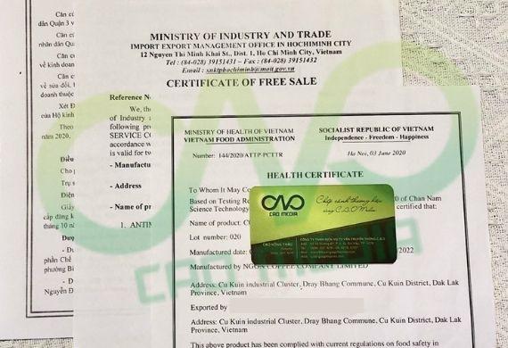 Dịch vụ đăng ký giấy phép xuất khẩu gạo 2021