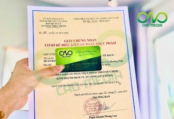 Tư vấn xin giấy phép vệ sinh ATTP quán bún bò Huế