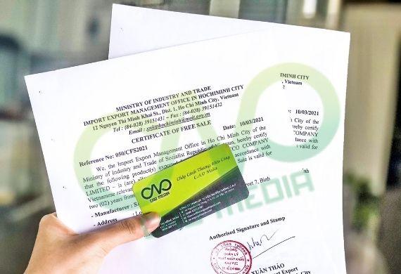 Quy trình xin giấy phép lưu hành tự do cho vỏ quế xuất khẩu