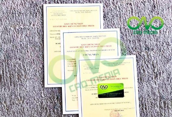 Đăng ký giấy phép VSATTP tại cơ sở nước uống tinh khiết