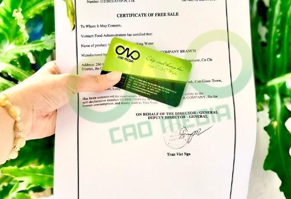 Đăng ký Health Certificate sản phẩm khô gà xuất khẩu