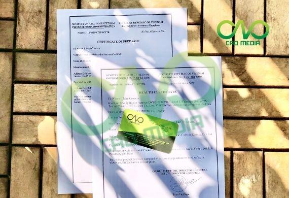 Đăng ký giấy chứng nhận y tế cho kẹo dừa xuất khẩu