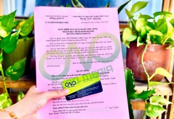 Dịch vụ xin giấy phép sản xuất rượu sim tại Tp HCM