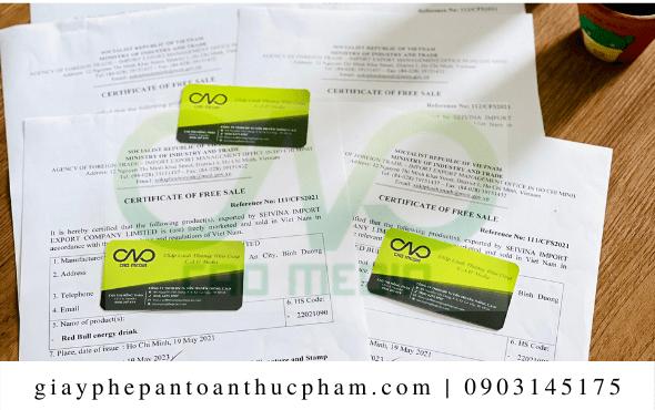 Chi phí xin giấy phép lưu hành tự do cho tỏi Lý Sơn