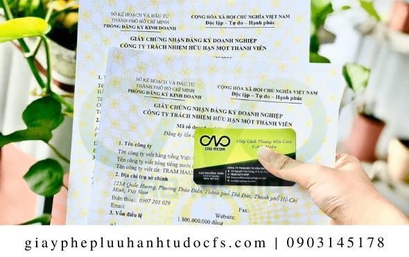 Doanh nghiệp thực hiện đăng ký giấy phép kinh doanh cho cửa hàng bánh trung thu