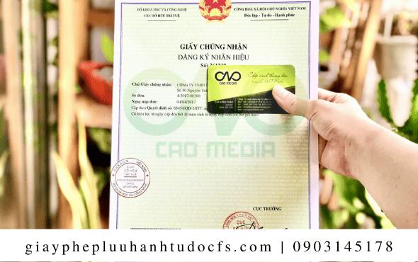 C.A.O Media đăng ký Nhãn hiệu hàng hóa cho bánh bao khoai mỡ