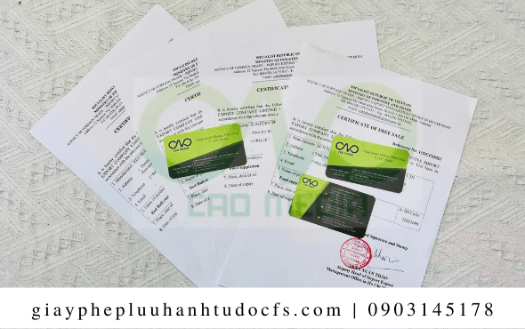 Quy trình xin giấy chứng nhận lưu hành tự do cho bánh bao đào tiên