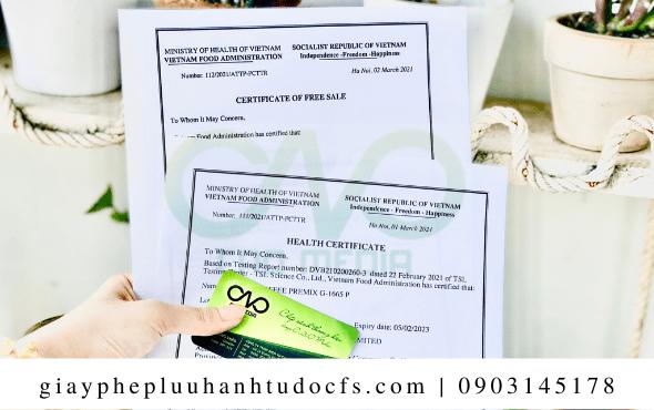 Quy trình xin giấy chứng nhận y tế cho bánh bao chiên