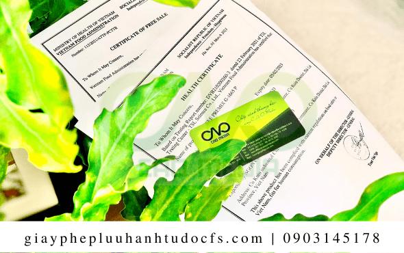 Quy trình xin giấy chứng nhận y tế cho bánh bao lá dứa