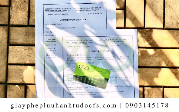 Quy trình xin giấy chứng nhận y tế cho bánh mì sầu riêng tại C.A.O Media
