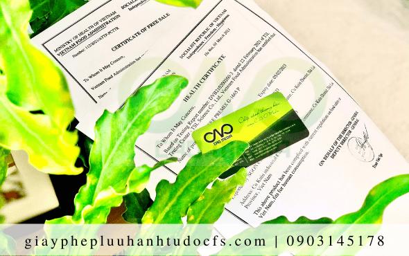 Dịch vụ xin giấy chứng nhận y tế cho bánh mì bơ tỏi