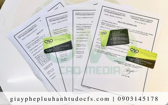 Quy trình xin giấy chứng nhận y tế cho bánh mì khoai môn